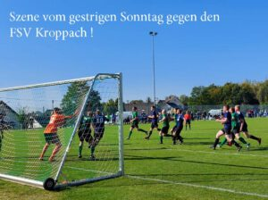 Read more about the article Fussball vom Wochenende !